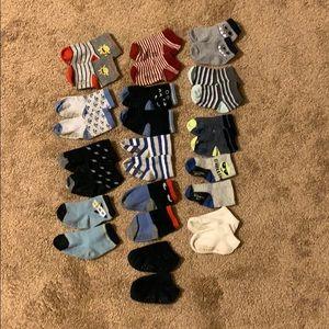 Lot of 14 Socks Carter's, Old Navy, OshKosh